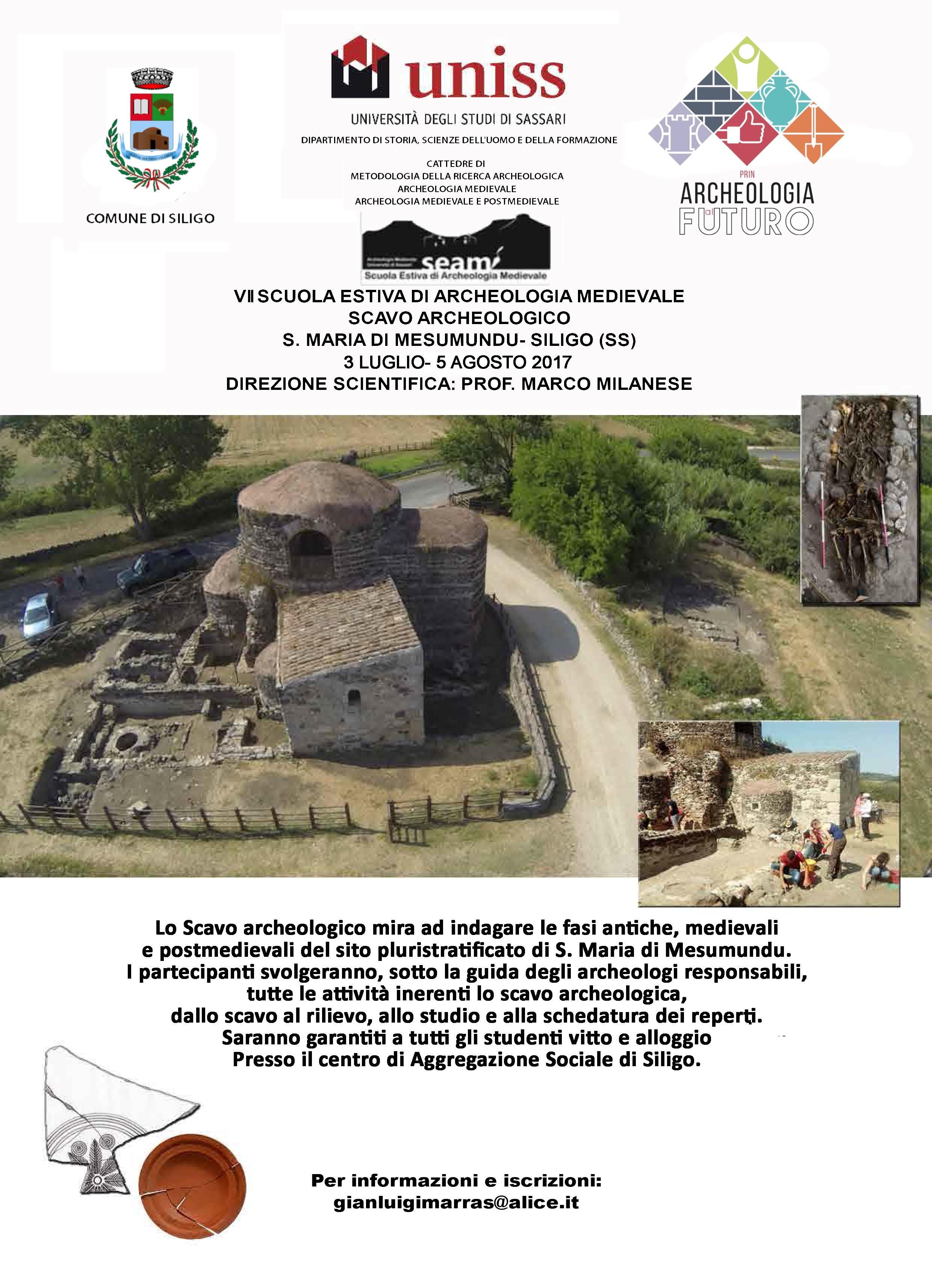 Al via la Scuola Estiva di Archeologia Medievale (3 Luglio ...